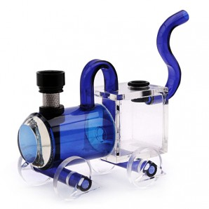 Acrylic waterpipe - American little train