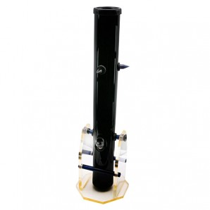 Acrylic ice bong black with spikes