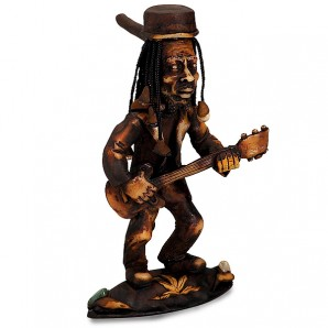 Standing Rasta Man Stealth Pipe